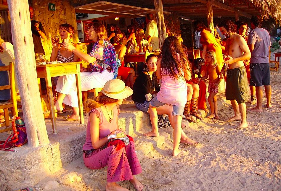 Ibiza sunset Spanje