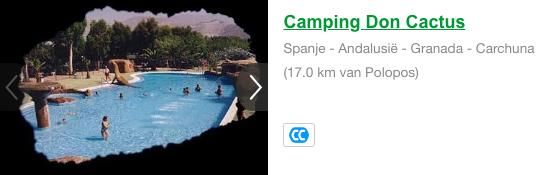 Camping Don Cactus Polopos