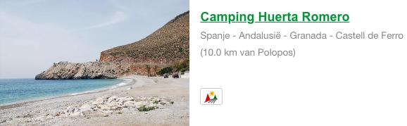 Camping Huerta Romero Polopos