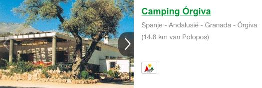Camping Orgiva Polopos