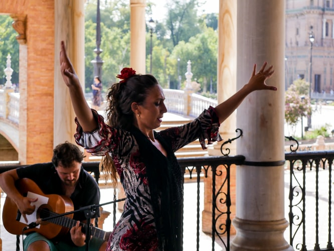 Flamenco Granada Spanje