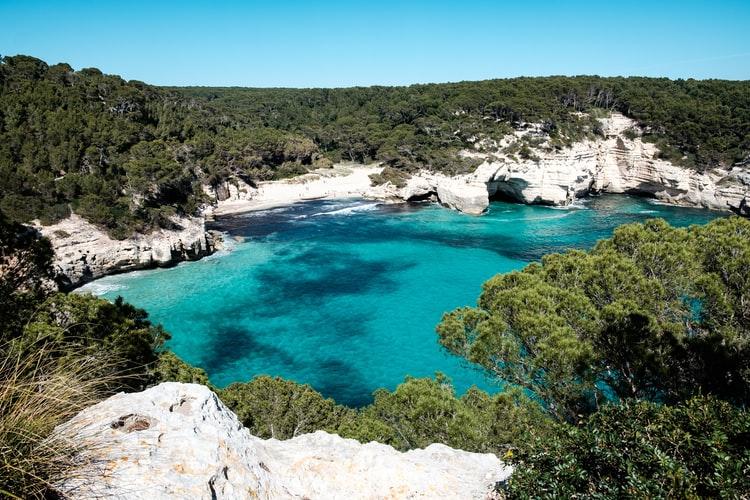 Menorca rotsen