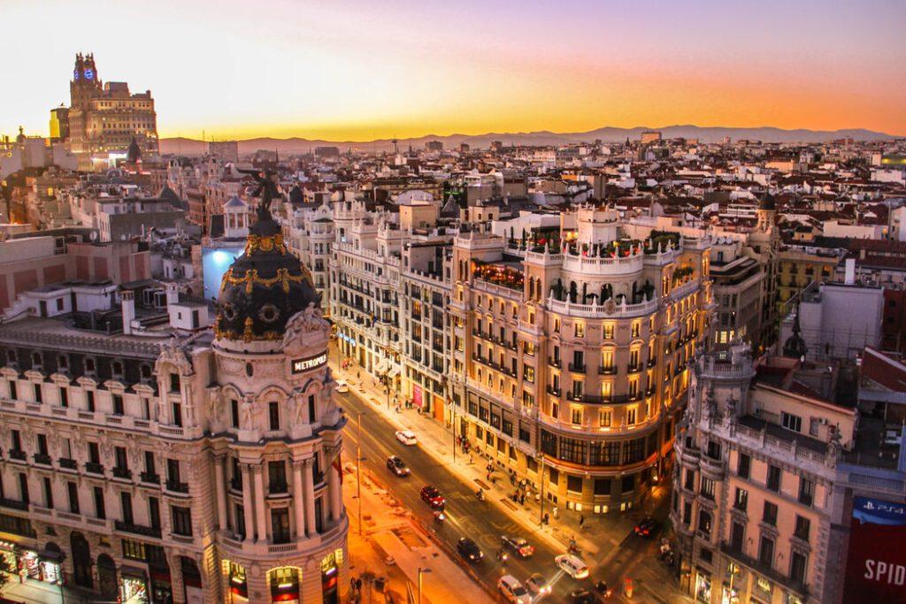 Vakantie Madrid