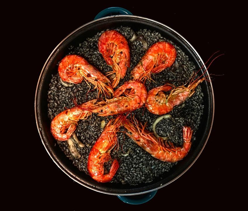 Ibiza paella zwarte rijst