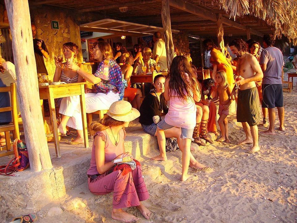 Ibiza strandtent